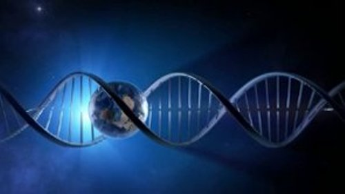 Earth passing through DNA strand