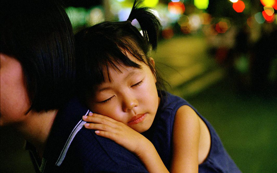 The Science of Love Article_Image of Sleeping Child